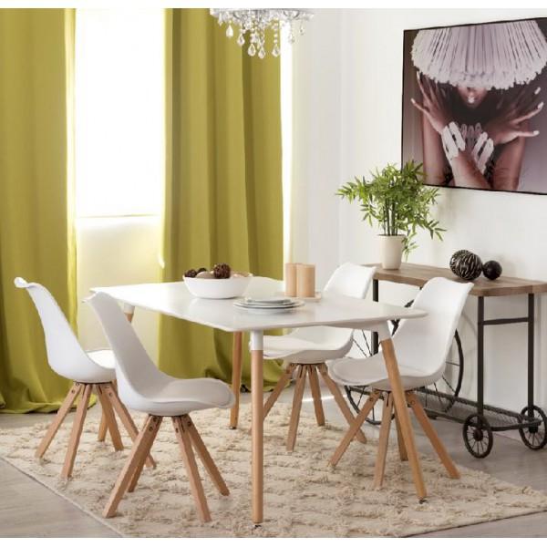 mesa i sillas nordicas