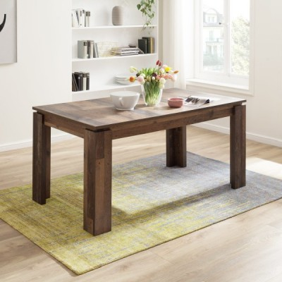MESA DE COMEDOR EXTENISIBLE 160x90 CM JONES