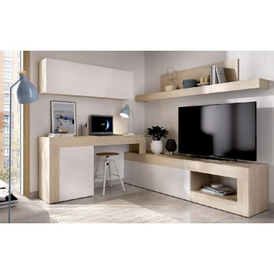 MUEBLE SALON AJUSTABLE DE 260 A 300 CM LEEDS