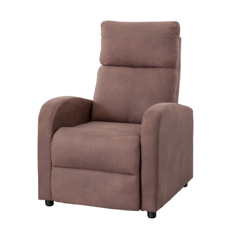 Sill n butaca relax reclinable domus tapizado en tela for Sillon reclinable
