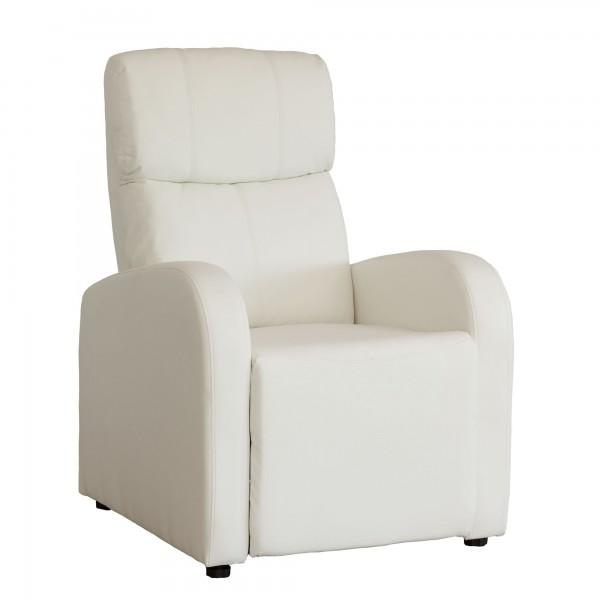 Sill n butaca relax reclinable sandra polipiel merkahome com for Sillon relax de piel