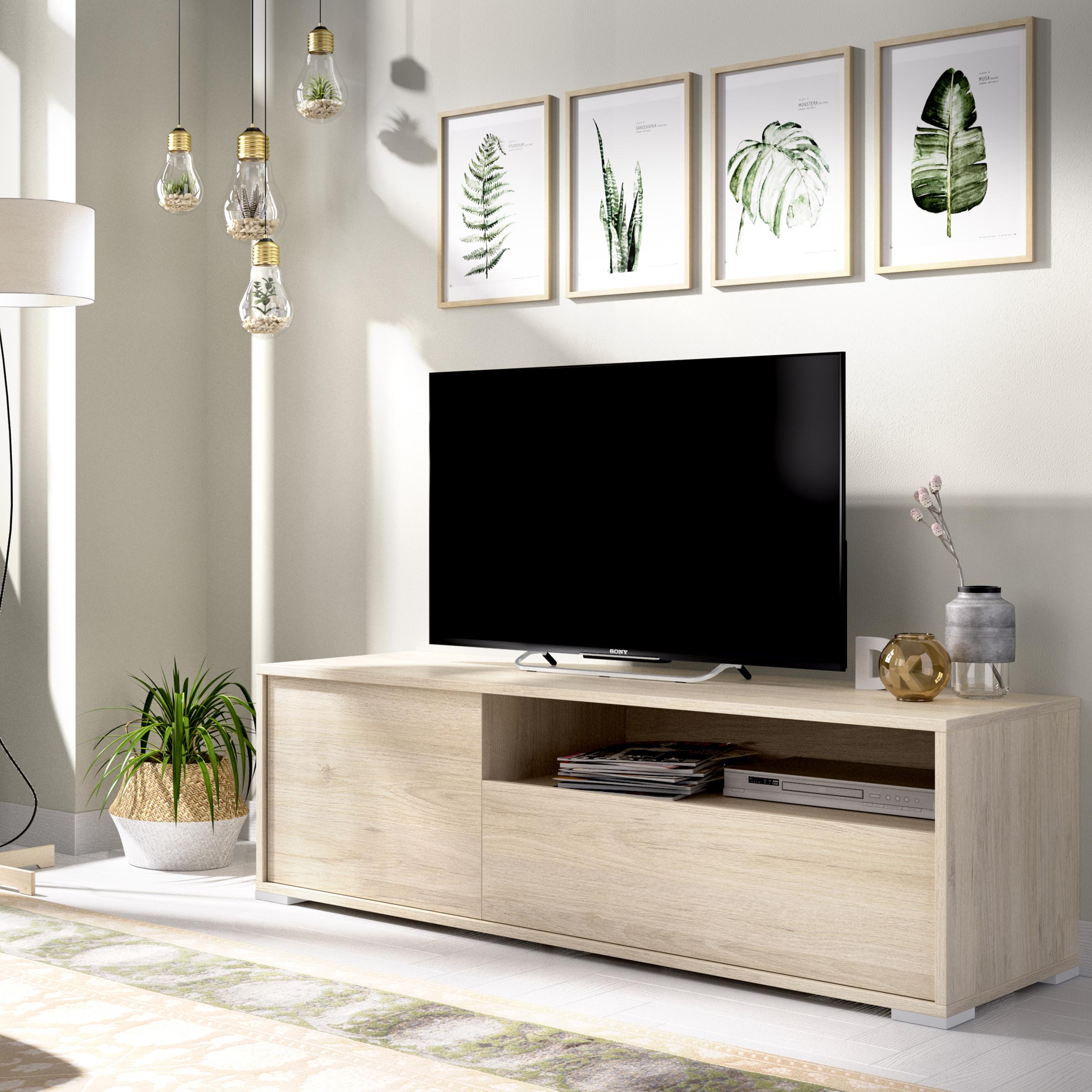 mueble televisión salón 130 cm london